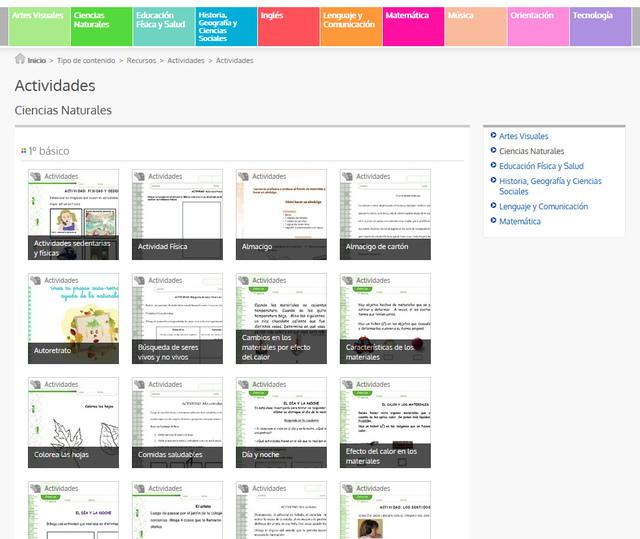 Currículum en línea: nuevas bases curriculares y los programas de ...