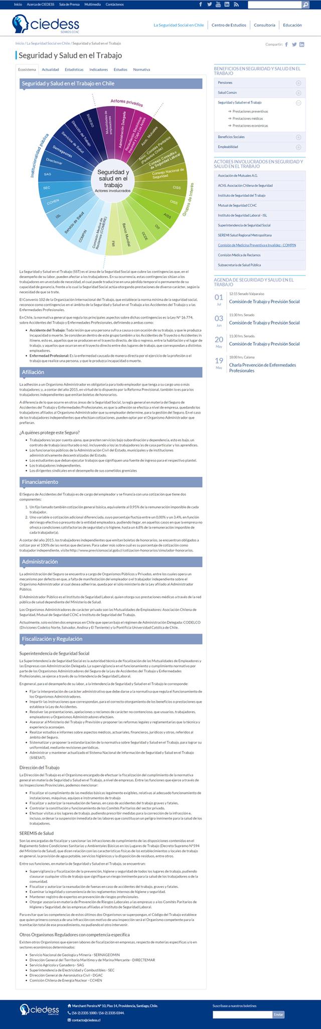 Ciedess: Panorama de la seguridad social en Chile - Newtenberg ...
